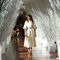 Spectacol la Casa Albă: Melania Trump a ales decorațiunile de Crăciun - FOTO