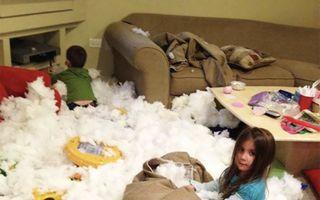 Ai copii și este brusc prea multă liniște în casă? Iată ce ar putea face!
