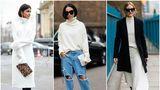 Cum să porți hainele albe în această iarnă