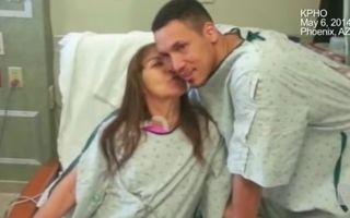 Gest emoţionant al unui tânăr: I-a salvat viaţa femeii care l-a adoptat