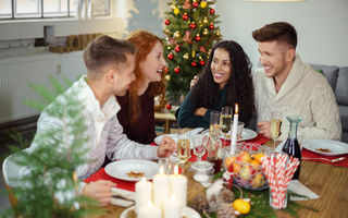 6 trucuri pentru a ajuta digestia după masa de Crăciun