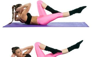 5 exerciții care lucrează intens abdomenul