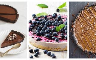 Cum să faci o tartă delicioasă pentru Revelion. 5 rețete fără coacere