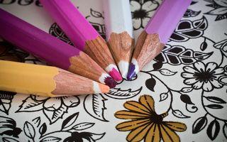 Studiu. Cărțile de colorat ameliorează anxietatea