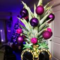 Cea mai mare ciudățenie: ananasul împodobit în locul bradului de Crăciun