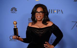 Discursul extraordinar cu care Oprah a stors lacrimi la Globurile de Aur 2018: Fanii o vor la Casa Albă