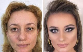 Magia machiajului: Cum ajunge o femeie de 80 de ani să arate ca la 40