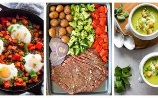 5 idei de cină ușoară fără multe calorii