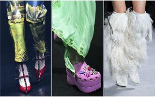 Pantofii propuși de designeri pentru primăvara 2018. De la modele clasice, până la cele mai bizare