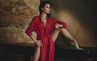 O femeie flexibilă: Cum a pozat Victoria Beckham pentru Vogue