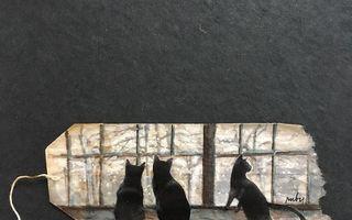 O artistă folosește plicurile de ceai pentru picturi în miniatură. Creațiile sale sunt geniale!