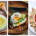 8 idei de mic dejun cu humus