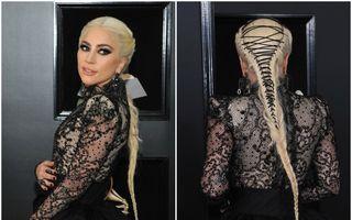 Cum a fost realizată coafura spectaculoasă purtată de Lady Gaga la Premiile Grammy