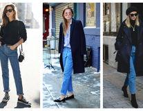 Cum să porți blugii mom jeans? 20 de outfituri stylish