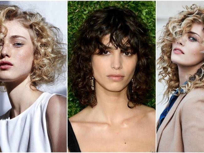 40 De Tunsori în Tendințe Pentru Părul Creț Frumuseţe Coafuri