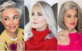 6 trucuri ca să arăți impecabil dacă ai părul alb
