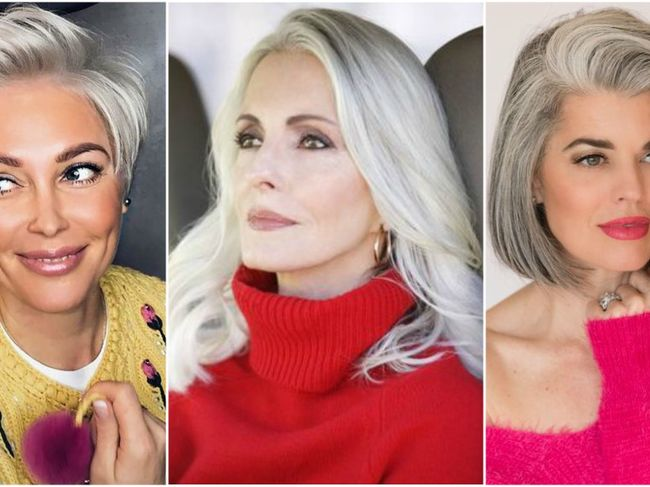6 Trucuri Ca Să Arăți Impecabil Dacă Ai Părul Alb Frumuseţe