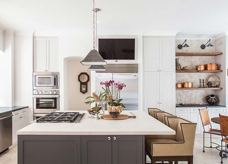 Image result for gas cooktop on island