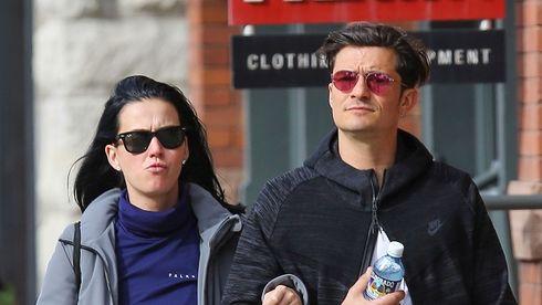 Katy Perry şi Orlando Bloom