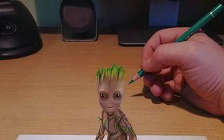 20 de desene 3D care te fac să le priveşti de două ori