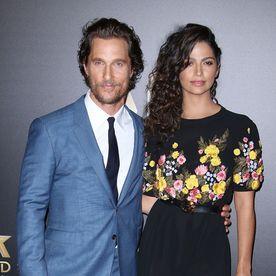 Matthew McConaughey şi Camila Alves
