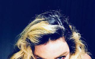 Nimeni nu o poate opri! Madonna, un nou selfie topless