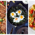 10 idei de cină cu 3 ingrediente