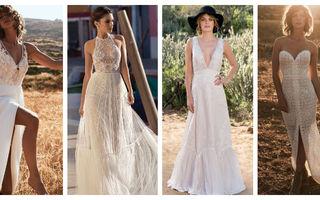 Cele mai frumoase rochii de mireasă fluide și lejere. 20 de modele superbe