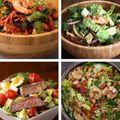 4 idei de salate bogate în proteine. Sunt sănătoase și foarte sățioase! - VIDEO
