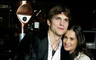 """""""Dieta"""" lui Ashton Kutcher după divorţul de Demi Moore: A trăit doar cu apă şi ceai"""