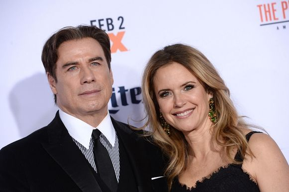 John Travolta şi Kelly Preston