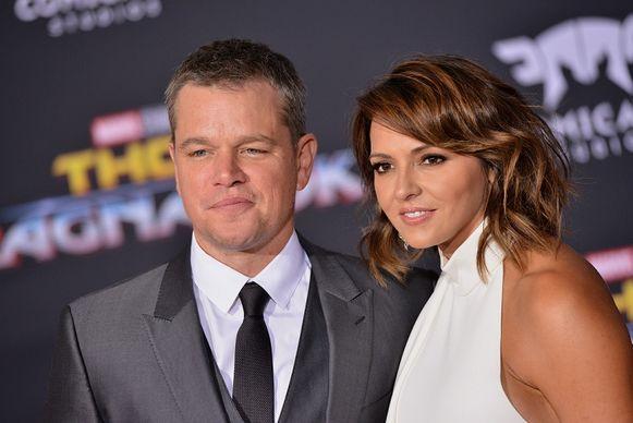 Matt Damon şi Luciana Barroso