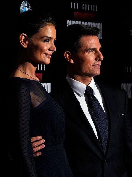 Tom Cruise şi Katie Holmes