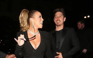 A slăbit şi a prins curaj: Mariah Carey, din nou în rochie mini