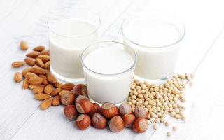 Care este cel mai sănătos tip de lapte vegetal
