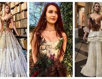 Un designer realizează cele mai inedite rochii din lume. Așa cum nu ai mai văzut vreodată!
