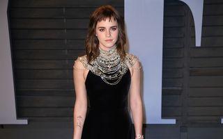Emma Watson, ținta ironiilor după Oscar 2018: Și-a făcut un tatuaj greșit!