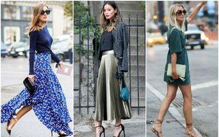 Regula simplă care te va ajuta să asortezi corect fusta sau rochia cu pantofii