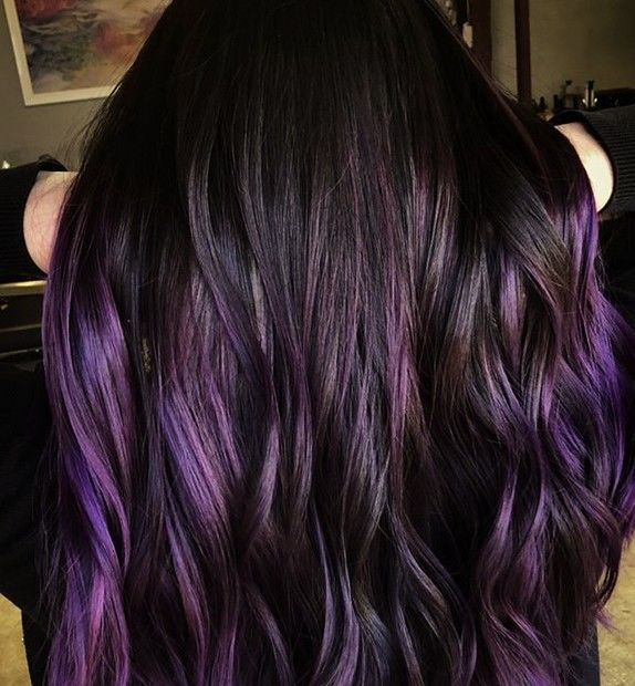 Nuanţa Spectaculoasă De Violet Perfectă Pentru Părul închis