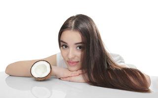 4 metode ca să folosești uleiul de cocos pentru un păr sănătos și strălucitor