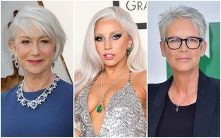 20 de vedete care arată excelent cu părul alb