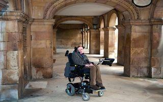 Mesajul de încurajare al lui Stephen Hawking pentru cei care suferă de depresie