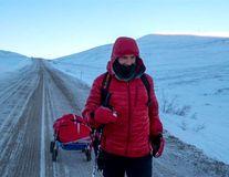 Tibi Ușeriu a câștigat pentru a treia oară Ultramaratonul Arctic. A parcurs 617 km în 7 zile