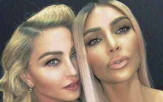 Madonna şi Kim Kardashian, cele mai bune prietene: Şi-au făcut selfie-uri şi au filmat un video împreună