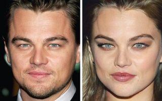 Cum ar arăta 20 de bărbaţi celebri dacă ar fi femei
