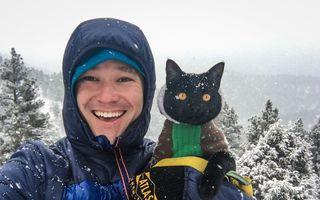 Motanul antrenat: Simon, campionul care adoră călătoriile şi aventura - VIDEO
