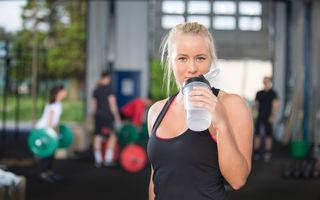 Ce să bei la sală pentru un antrenament eficient