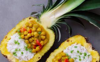 Rețetă de post. Cum să faci cel mai bun curry cu năut și ananas