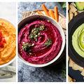 Hummus în 4 variante. Dacă te-ai săturat de cel clasic, încearcă aceste combinații!