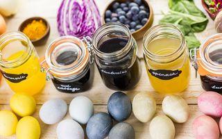 Cum să faci vopsea de ouă naturală din foi de ceapă sau cafea